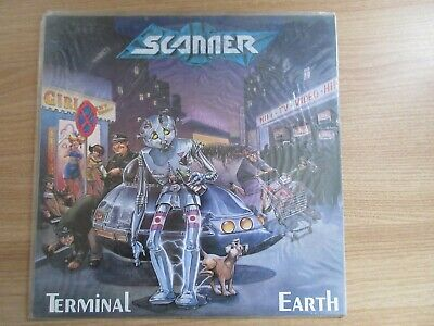 SCANNER TERMINAL EARTH 1990 Korea Orig LP SEALED NEW RARE