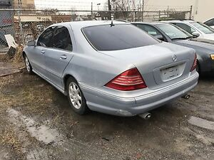 2000 Mercedes S430 Parting Out