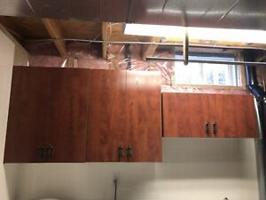 Kitchen cabinet with plate form