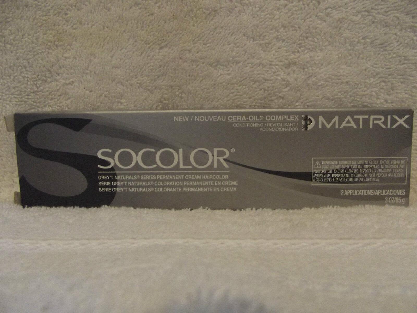Matrix SOCOLOR Grey