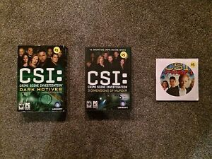 CSI: Crime Scene Investigation/CSI: Miami PC GAMES