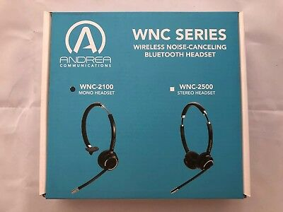 Andrea WNC-2100 Wireless Headset With Microphone ()