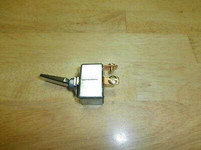 50amp 12vdc Spst Onoff Chrome Automotivemarine Toggle Switch Philmore 30-12245