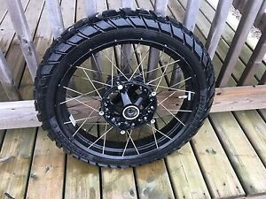 BMW R1200GS water cooled front wheel & tire