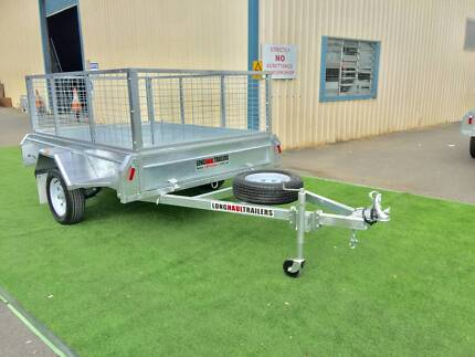 PREMIUM 7x5 Box Trailer 600mm Cage - Fully Welded - BUILT TOUGH Sumner Brisbane South West Preview