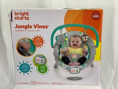 Bright Starts Jungle Vines Cradling Bouncer