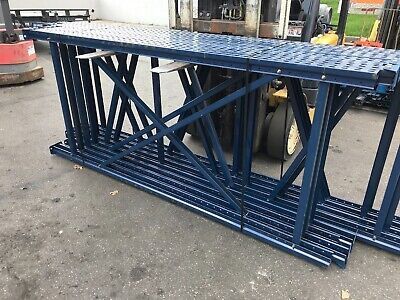 Used Tear Drop Upright For Pallet Racking 42d X 96h.