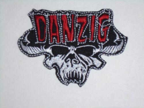 DANZIG IRON ON EMBROIDERED PATCH