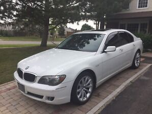 2008 BMW 750i Alpina White