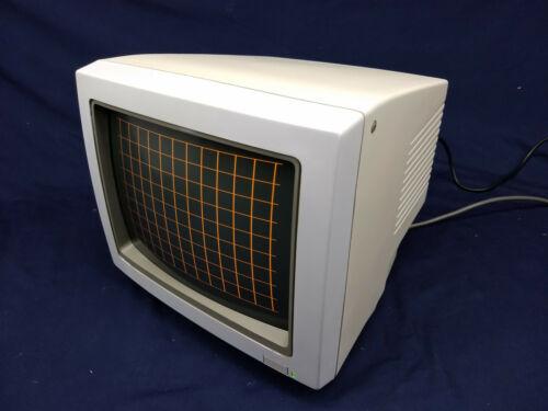 "Vintage Amdek 242A Monochrome Monitor 12"" Amber"