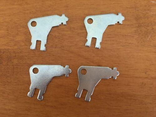 Cormatic Dispenser Key #50504 for Paper Towel & Toilet Tissue Dispensers 4pcs