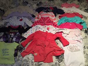 42 items of Girl Clothes 6-9 months