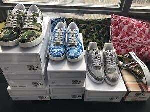 BAPE STA for sale! Size 8.5-10.5 DS