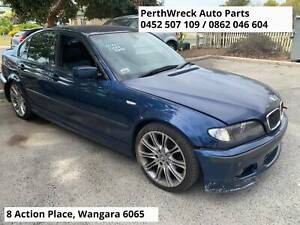 BMW 318i E46 4dr Wrecking parts, panel, engine etc for sale Wangara Wanneroo Area Preview