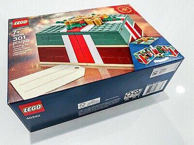 SEALED LEGO Christmas Gift Box 40292 (2019 Promo Gift)