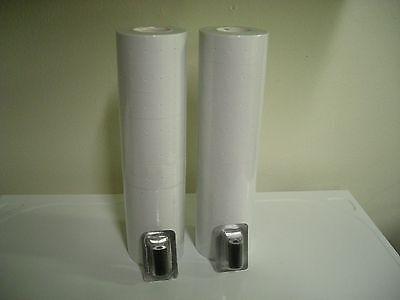 White Labels For Garvey 22-6 22-722-8 1 Line Guns 18 Rolls 2 Inkers