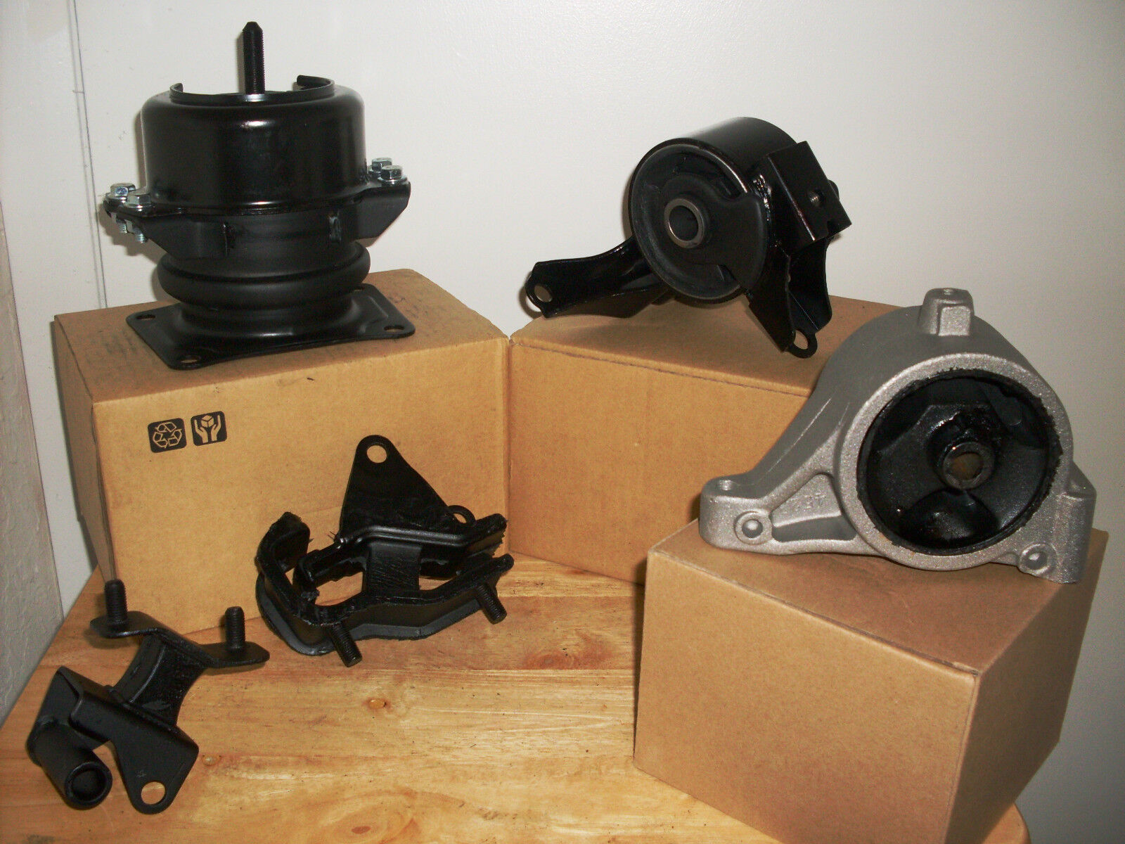 set of engine  u0026 transmission mounts