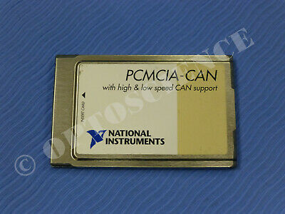 National Instruments Pcmcia-can Interface Card High And Low Speed Support