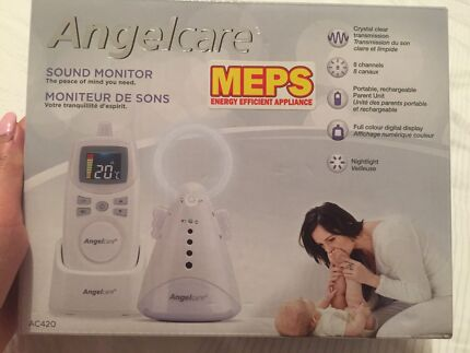 Angelcare baby sound monitor AC420