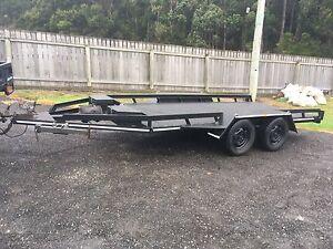 Tandem car trailer Hillcrest Burnie Area Preview