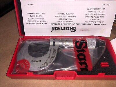 Starrett T230rl Outside Micrometer Ratchet Stop Lock Nut 0-1 Range