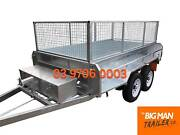 8×5 GALVANISED HYDRAULIC TIPPER TRAILER 3.5T ATM Dandenong Greater Dandenong Preview
