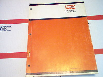 870 Case Agri-king Tractor Parts Catalog No 1171 Sn 8675001 After