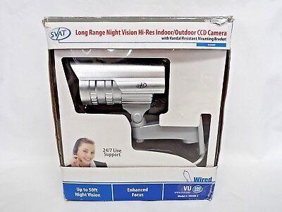 - SVAT VU500-C Indoor Outdoor Security Camera Hi-Res Infrared IR LED Long Range