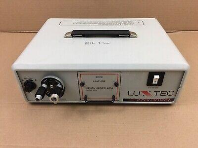 Luxtec 9300 300 Watt Super Charged Fiberoptic Endoscopic Headlight Light Source
