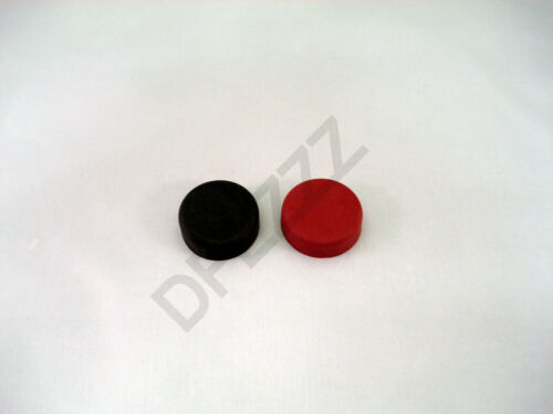 HOBART MIXER SWITCH COVER ON OFF PART, RUBBER SET OF 2, 1 RED & 1 BLACK