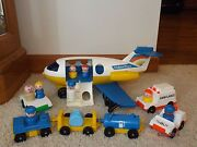 Vintage Fisher Price Little People Airplane