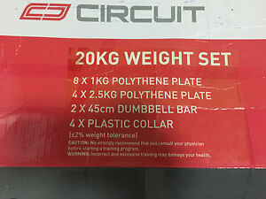 Circuit 20KG Weight Set Rhodes Canada Bay Area Preview