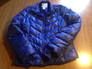 Aeropostale blue puffer coat size small