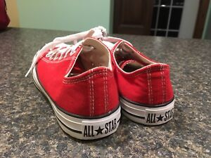 Converse All Star rouge