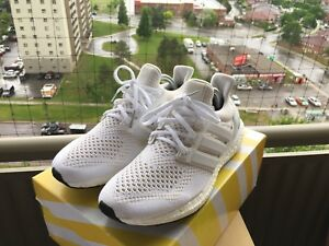 Adidas Ultra Boost Triple White Size 10 2015