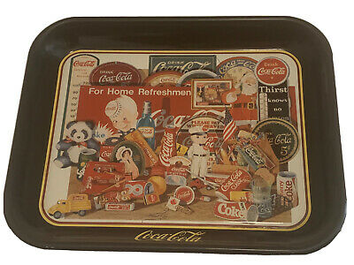Vintage Coca-Cola Coke Memorabilia Collectible Tray - Through the Years, II