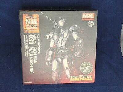 c953c6f863faa USED Tokusatsu Revoltech No.031 Iron Man War Machine Figure Kaiyodo
