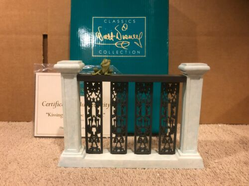"""WDCC Naveen (as Frog) on Balcony """"Kissing Would be Nice, yes."""" + Box & COA"""