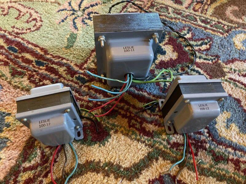 Vintage Leslie TRIAD Transformer Set~EL84 Vacuum Tube Amp~Power x1 & Filament x2