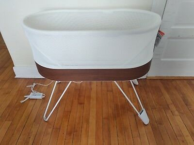 SNOO Smart Sleeper by Happiest Baby with leg lifters - Bassinet Newborn Nursery for sale  Worcester
