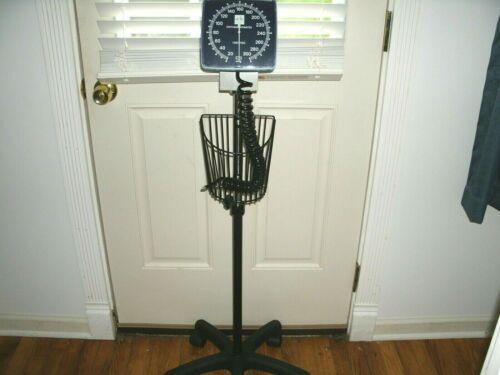 Medline Sphygmomanometer rolling stand, blood pressure cart, 8