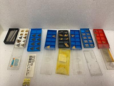 Carbide Cutters Tips Inserts Lot Of Korloy Ceratip Sandvik Assorted