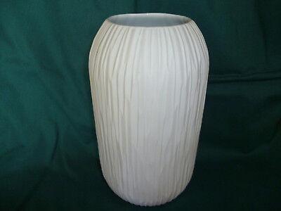 Thomas Porzellan Vase weiß 13 x 24 cm ungebraucht neuwertig