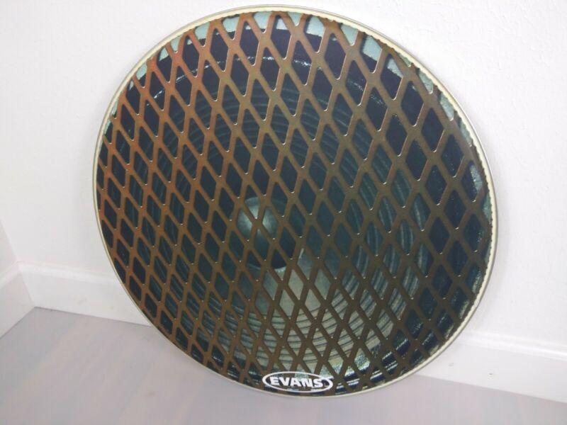 Evans 22 bass drum head speaker design
