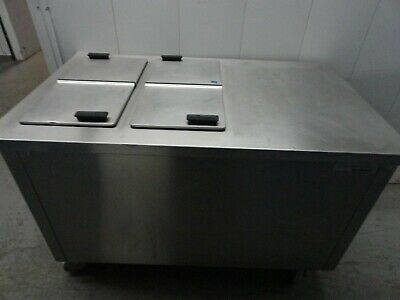 Delfield Kcm50 Commercial Refrigerated Milkice Cream Dipping Counter W4 Lids