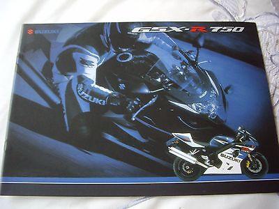 Suzuki GSXR750, 16 page sales brochure, Hyper Sport
