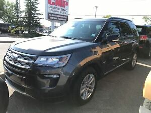 2018 Ford Explorer XLT | 4X4 | Leather | Sunroof | HTD Seats