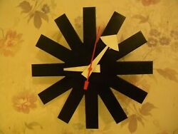 Early Asterisk Clock  George Nelson Assoc for Howard Miller Clock Co---Working