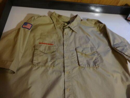 Boy Scouts of America Scouts BSA Uniform Shirt 3XL Cotton/Polyester - SPOTS - RE