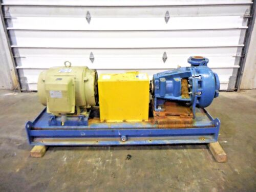 "RX-3635, METSO MM150 LHC-D 6"" x 4"" SLURRY PUMP W/ 60HP MOTOR AND FRAME"